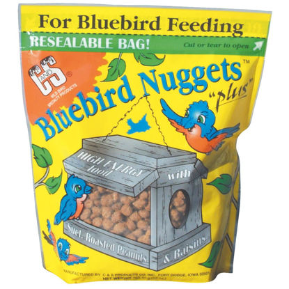 Picture of C&S Bluebird Nuggets 27 Oz. Wild Bird Food