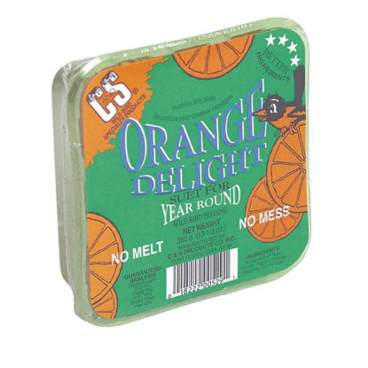 Picture of C&S 13.5 Oz. Orange Delight Suet