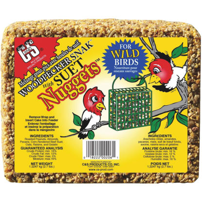 Picture of C&S Nuggets 2.4 Lb. Woodpecker Suet