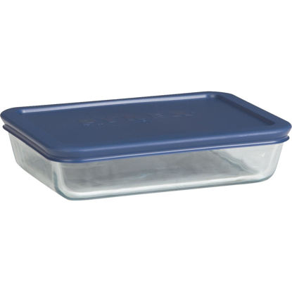 Picture of Pyrex Simply Store 3-Cup Rectangle Glass Storage Container with Lid