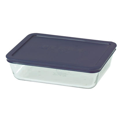 Picture of Pyrex Simply Store 6-Cup Rectangle Glass Storage Container with Lid