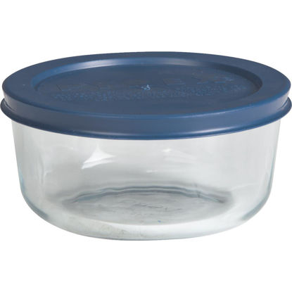 Picture of Pyrex Simply Store 2-Cup Round Glass Storage Container with Lid