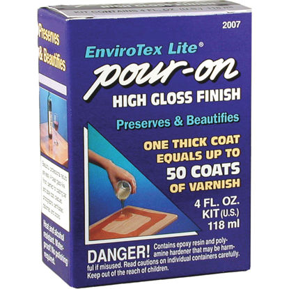 Picture of Envirotex Lite Pour-On 4 Oz. High-Gloss Finish