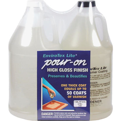 Picture of Envirotex Lite Pour-On 1 Gal. Kit High-Gloss Finish