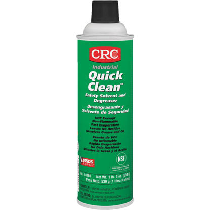Picture of CRC Quick Clean 19 Oz. Aerosol Degreaser