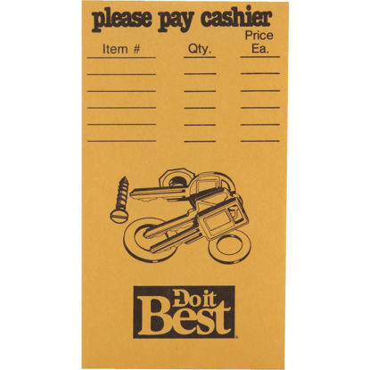 Picture of Do it Best Coin/Parts Envelope, 500 Pack