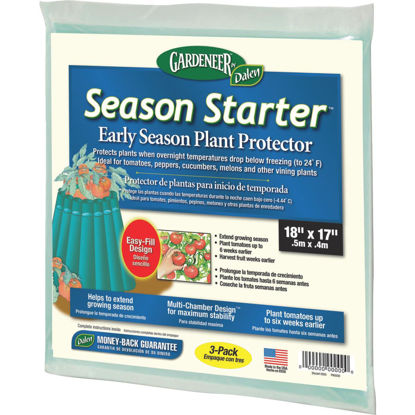 Picture of Gardeneer Season Starter 18 In. L. x 17 In. W. Plastic Plant Protector