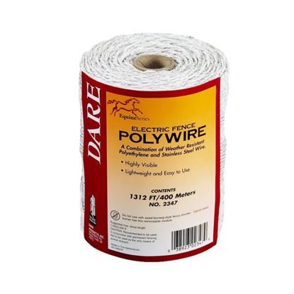 Picture of Dare 1312 Ft. Polyethylene w/Stainless Steel Strands Electric Fence Poly Wire