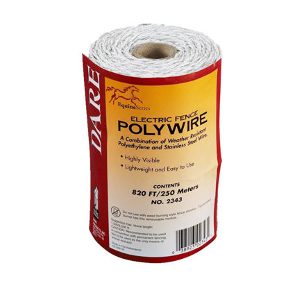 Picture of Dare 820 Ft. Polyethylene w/Stainless Steel Strands Electric Fence Poly Wire