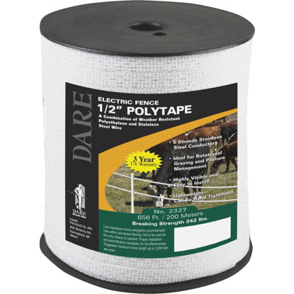 Picture of Dare 1/2 In. x 656 Ft. Polyethylene Electric Fence Poly Tape
