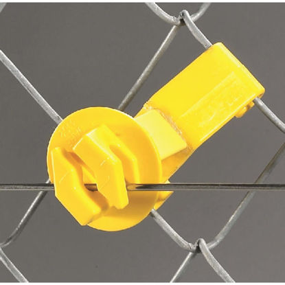 Picture of Dare Snap-On Yellow Polyethylene U-Post Electric Fence Insulator (25-Pack)