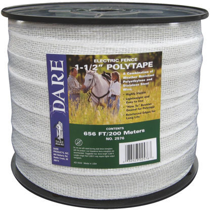 Picture of Dare 1-1/2 In. x 656 Ft. Polyethylene Electric Fence Poly Tape