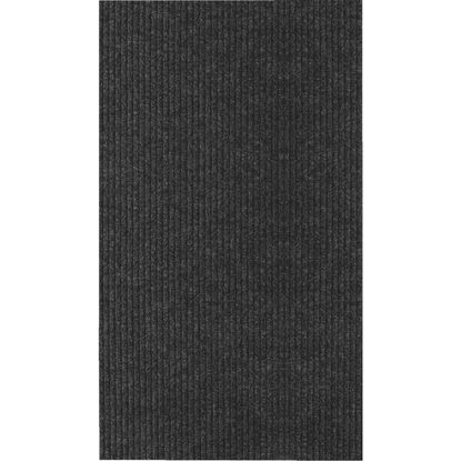 Picture of Multy Home Concord 26 In. x 50 Ft. Charcoal Carpet Runner, Indoor/Outdoor