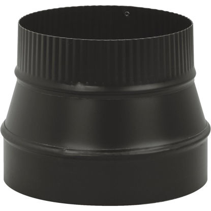 Picture of Imperial Single Wall 8 In. - 7 In. 24 ga Black Reducer