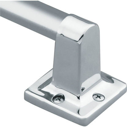 Picture of Moen Home Care 24 In. x 7/8 In. Exposed Screw Grab Bar, Chrome