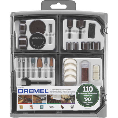 Picture of Dremel All-Purpose Rotary Tool Accessory Kit (110-Piece)