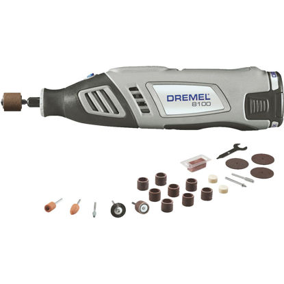 Picture of Dremel 8 Volt MAX Lithium-Ion Variable Speed Cordless Rotary Tool Kit