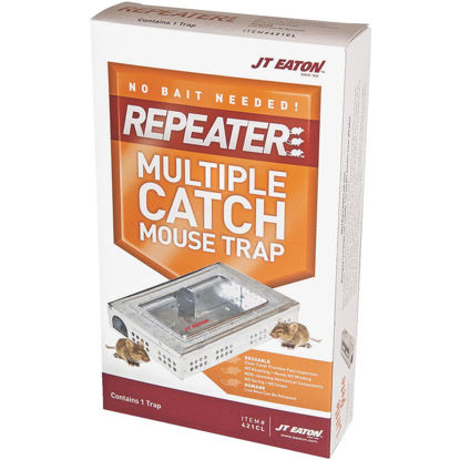 Picture of JT Eaton Repeater Multiple Catch Mechanical Mouse Trap with Inspection Window (1-Pack)