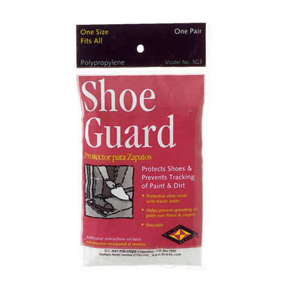 Picture of Trimaco SuperTuff 1 Sizr Fits Most Polypropylene White Shoe Guard Cover