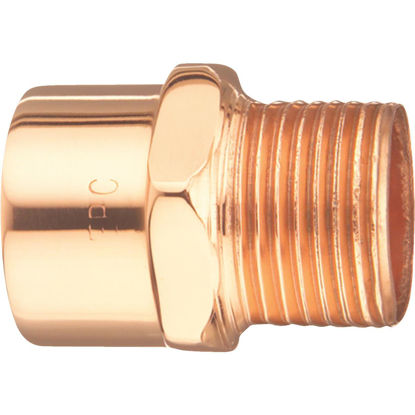 Picture of Elkhart 1/2 In. x 3/8 In. Male Copper Adapter