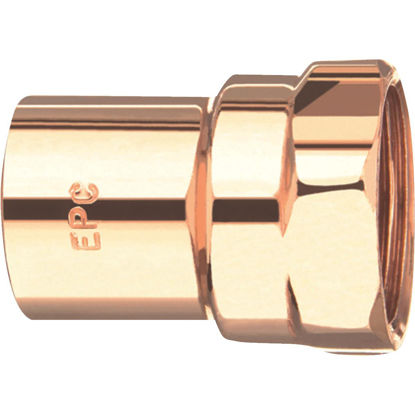 Picture of Elkhart 1/2 In. x 3/8 In. Female Copper Adapter