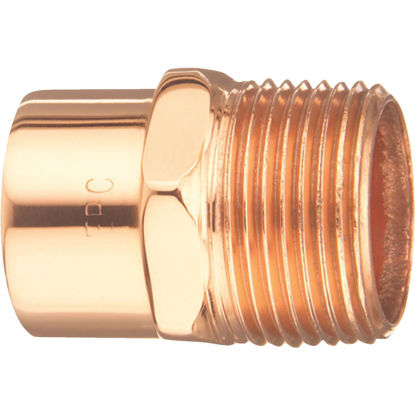 Picture of Elkhart 1/2 In. Male Copper Adapter