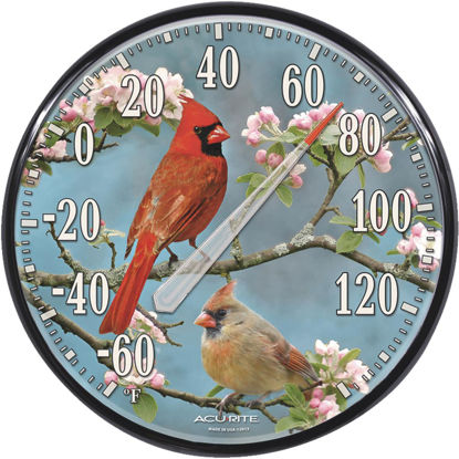"Picture of Acurite 12-1/2"" Fahrenheit -60 To 140 Outdoor Wall Thermometer"