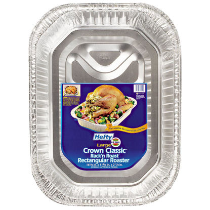 Picture of EZ Foil Rack 'N' Roast Rectangle Roaster Pan
