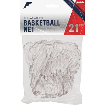 Picture of Franklin Hourglass White All Weather Basketball Net