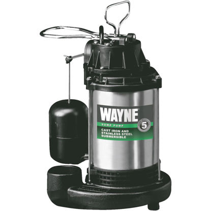 Picture of Wayne 3/4 HP 115V Submersible Sump Pump