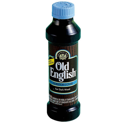 Picture of Old English 8 Oz. Scratch Cover Wood Polish for Dark Wood