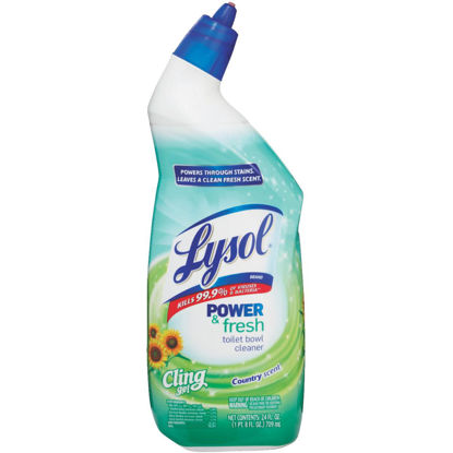 Picture of Lysol 24 Oz. Cling Gel Toilet Bowl Cleaner