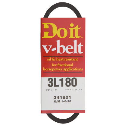 Picture of Do it 18 In. L x 3/8 In. Wide A-Pulley V-Belt