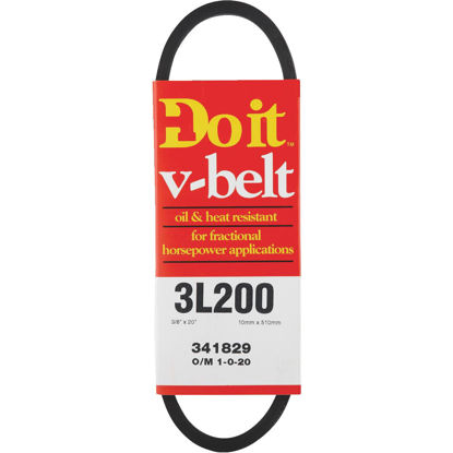 Picture of Do it 20 In. L x 3/8 In. Wide A-Pulley V-Belt