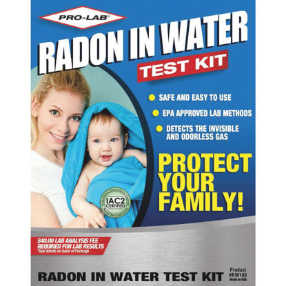 Picture of Pro Lab Drinking Water Radon Test Kit