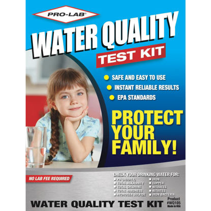 Picture of Pro Lab Instant Results Water Quality Test Kit