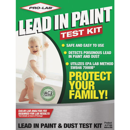 Picture of Pro Lab Dust Wipes Lead Test Kit