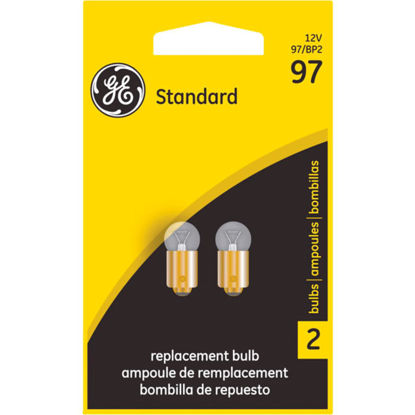 Picture of GE 12V 97-BP Miniature Incandescent Automotive Bulb (2-Pack)