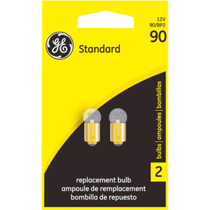 Picture of GE 12V 90 Miniature Incandescent Automotive Bulb (2-Pack)