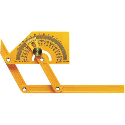 Picture of General Tools Plastic Protractor and Angle Finder