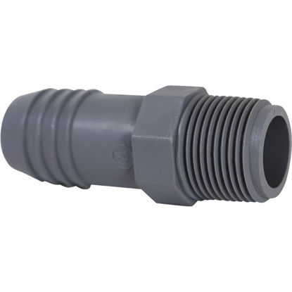 Picture of Genova 1 In. Insert x 3/4 In. MIP Reducing Polypropylene Hose Adapter