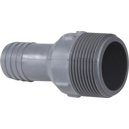 Picture of Genova 1 In. Insert x 1-1/4 In. MIP Reducing Polypropylene Hose Adapter