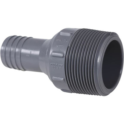 Picture of Genova 1 In. Insert x 1-1/2 In. MIP Reducing Polypropylene Hose Adapter