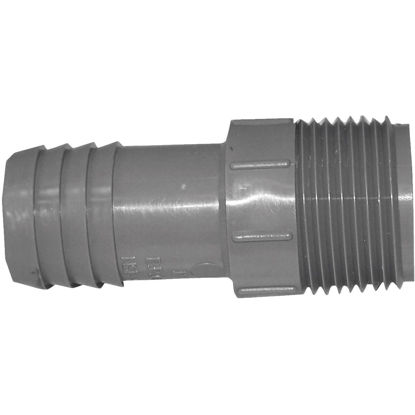 Picture of Genova 1 In. Insert x 1 In. MIP Polypropylene Hose Adapter