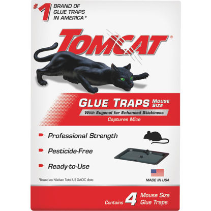 Picture of Tomcat Glue Mouse Trap (4-Pack)