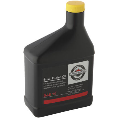 Picture of Briggs & Stratton 30W 18 oz 4-Cycle Motor Oil