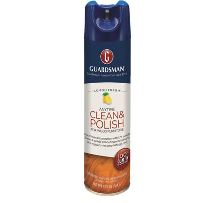 Picture of Guardsman 12.5 Oz. Lemon Anytime Clean & Polish for Wood Furniture