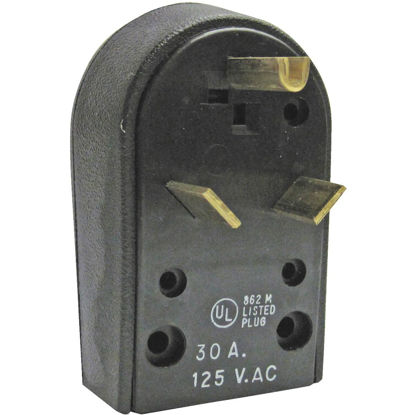 Picture of GE 30A 120V 3-Wire 2-Pole Travel Trailer Power Plug