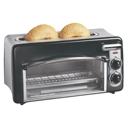 Picture of Hamilton Beach Toastation 2-Slice Black Toaster Oven