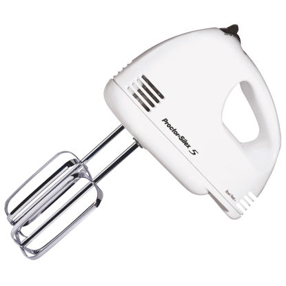 Picture of Proctor-Silex 5-Speed White Hand Mixer